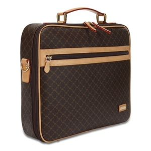 NEW RIONI Milan Jetsetter's Briefcase/Shoulder Bag